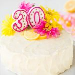 Birthday Cake Recipes Lemon Layer Cake With Lemon Cream Cheese Frosting