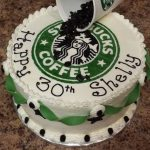 Birthday Cake Starbucks 30th Starbucks Birthday Cake Cakecentral