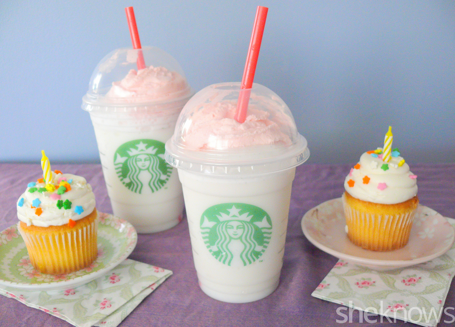 Birthday Cake Starbucks Starbucks Birthday Cake Frappuccino We Tried It Is It Worth It