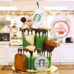 Birthday Cake Starbucks Watch Starbucks Lovers Will Be Hypnotized This Cake Decorating