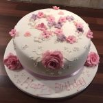 Birthday Cake With Flowers 90th Birthday Cake With Flowers Welcome Tonina Makes Cakes