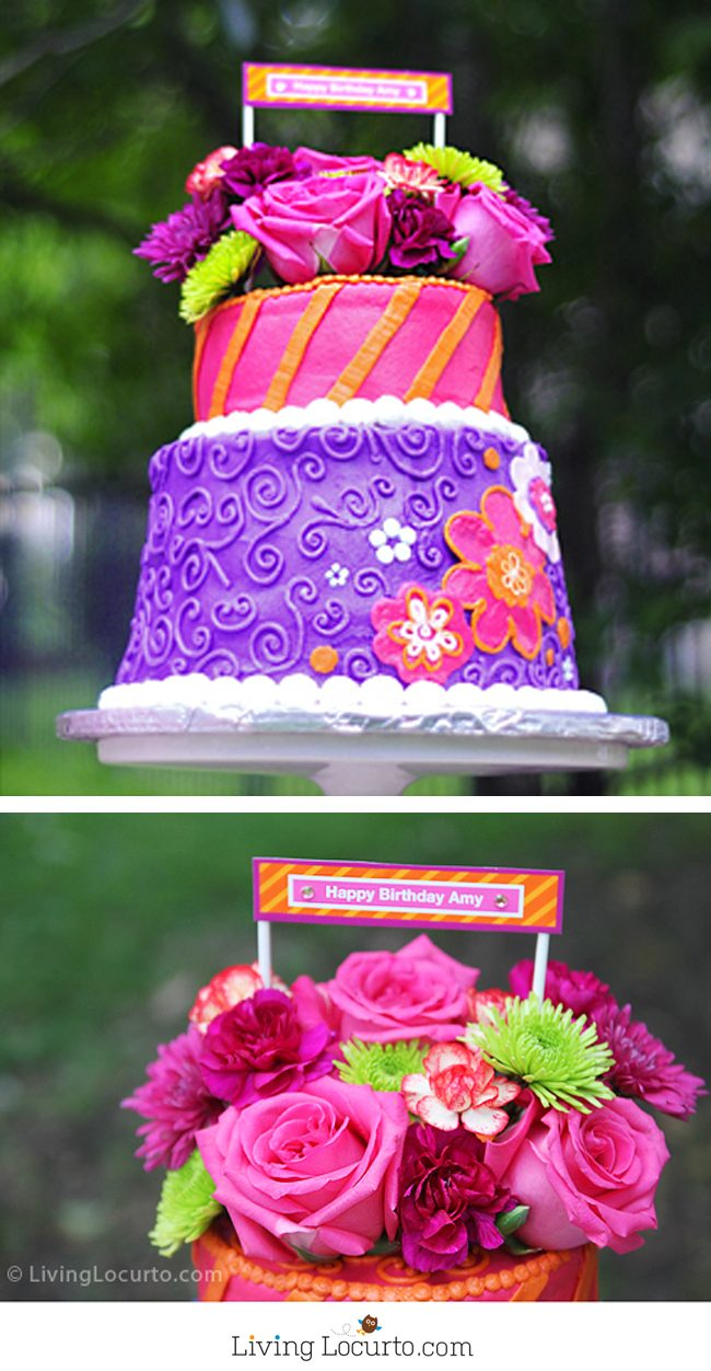 Birthday Cake With Flowers Beautiful Floral Cakes Pretty Ideas