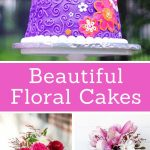 Birthday Cake With Flowers Beautiful Floral Cakes Pretty Birthday Cake Ideas