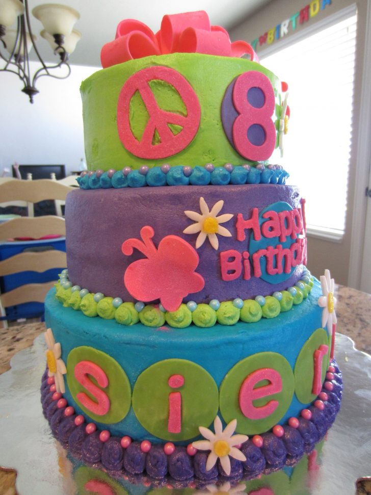 Birthday Cakes For 8 Years Old Girl 8 Year Old Girl Birthday Cake Things Ive Made Pinterest