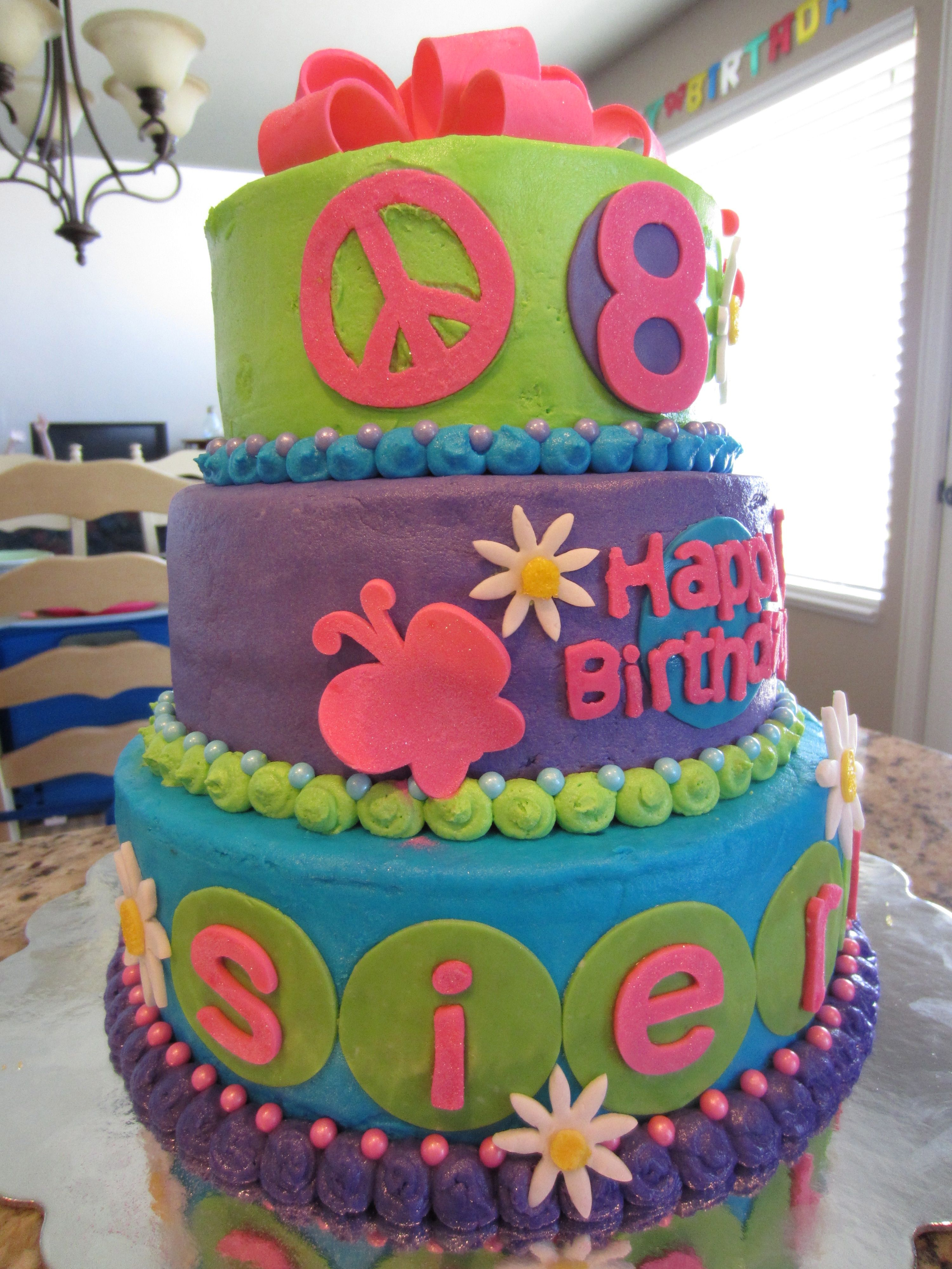 25+ Beautiful Photo of Birthday Cakes For 8 Years Old Girl