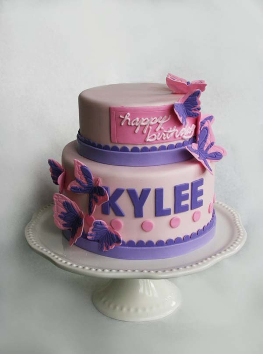 Birthday Cakes For 8 Years Old Girl Kylees Cake Cakecentral