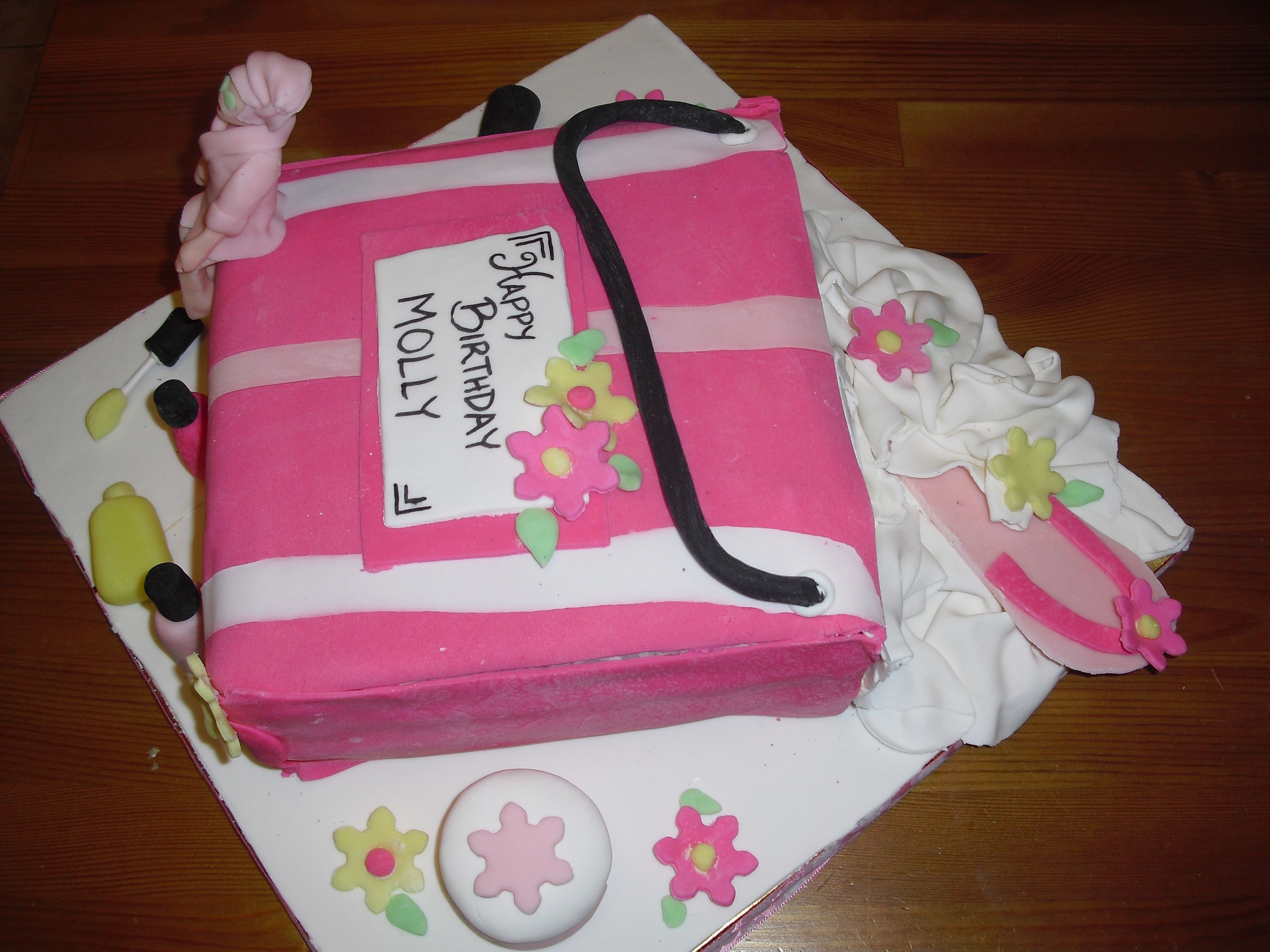 Birthday Cakes For 8 Years Old Girl Spa Party Cake Lets Party Pinterest Party Spa Party And Birthday
