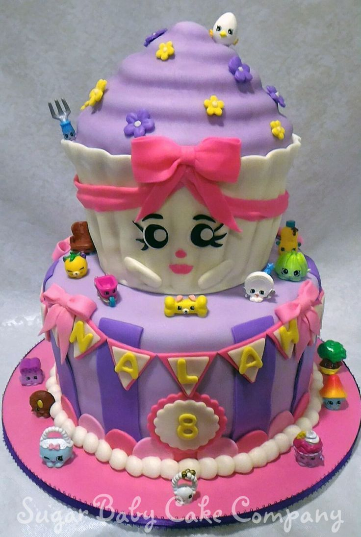 Birthday Cakes For Kids Shopkins Birthday Cake On Cake Central Shopkins Birthday Party