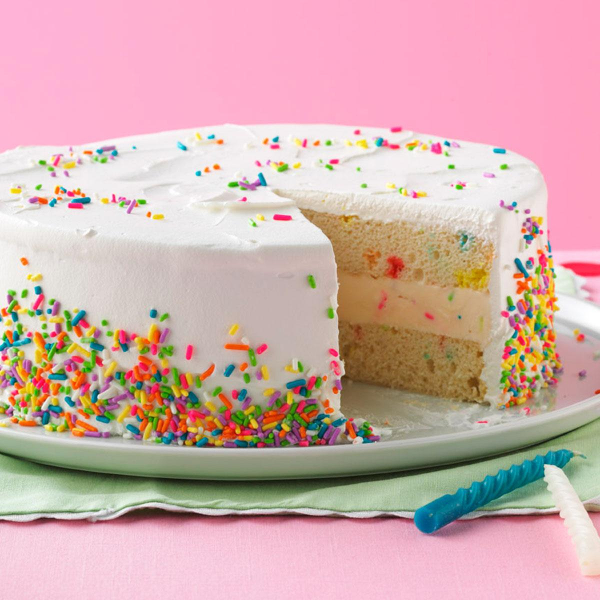 Birthday Cakes Ice Cream Birthday Cake Recipe Taste Of Home