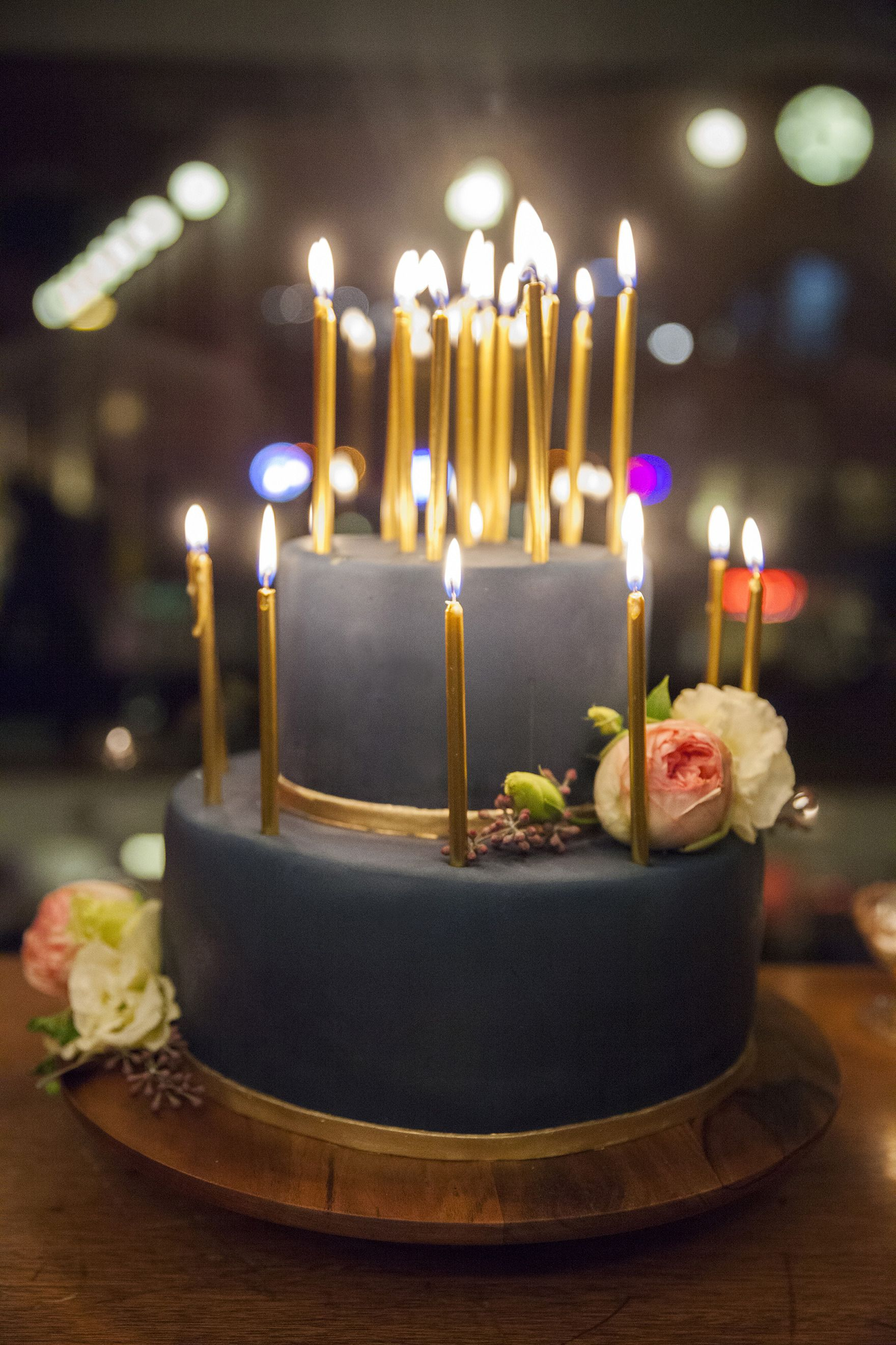Birthday Cakes With Candles 30th Birthday Dinner Party Parties Celebrations Pinterest