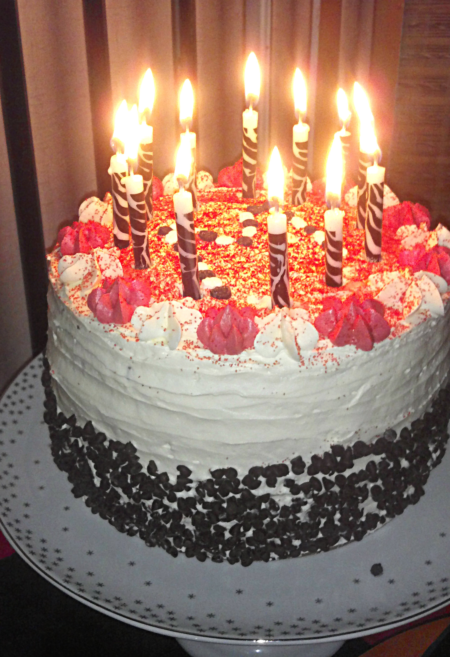 Birthday Cakes With Candles Birthday Cake With Candles Savorgoodfood