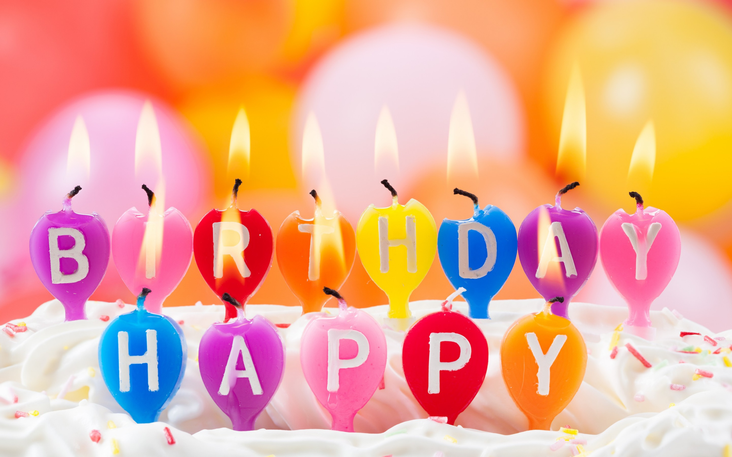 Birthday Cakes With Candles Birthday Cakes With Candles And Flowers Hd Wallpaper Background Images