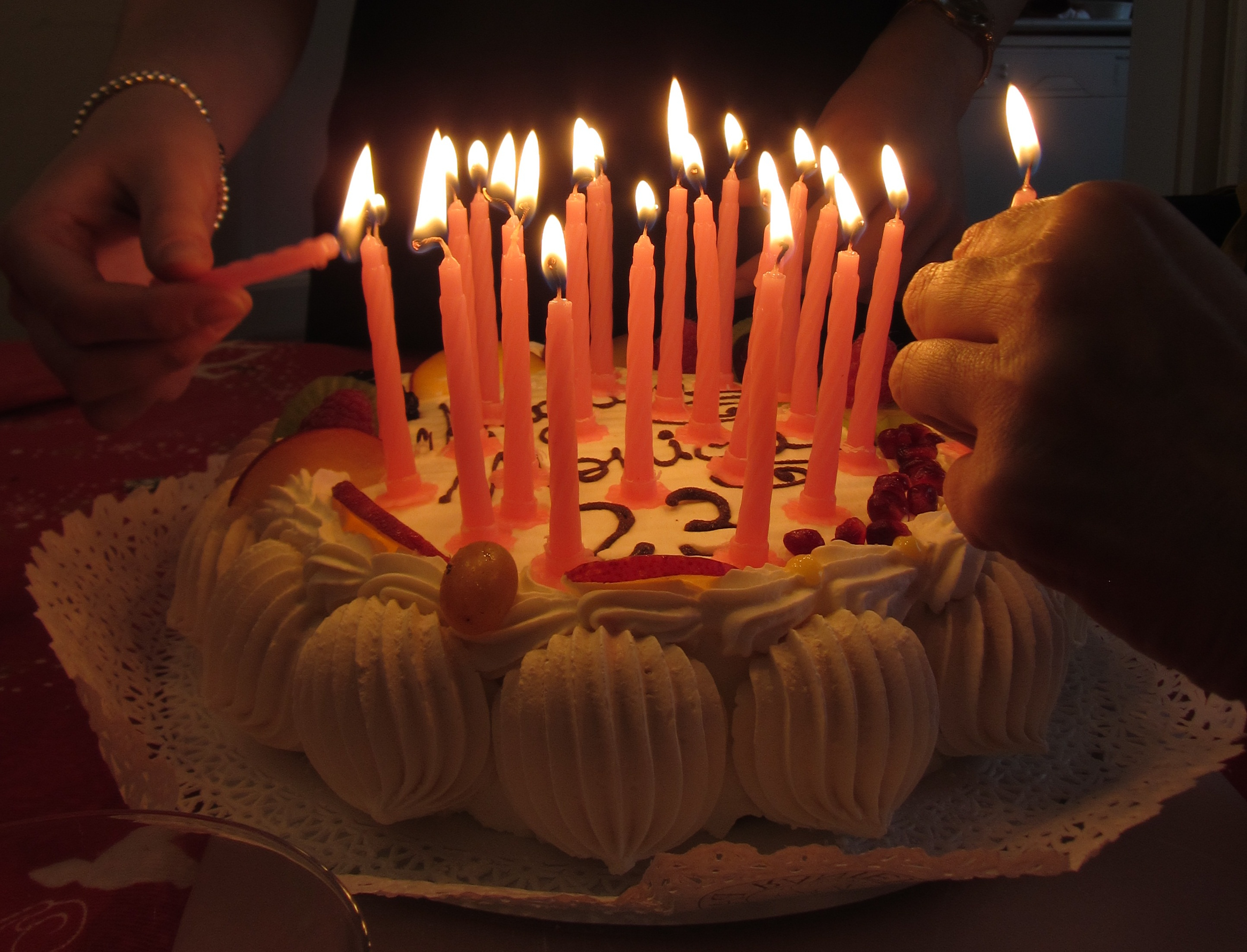 Birthday Cakes With Candles Fileitaly Birthday Cake With Candles 3 Wikimedia Commons