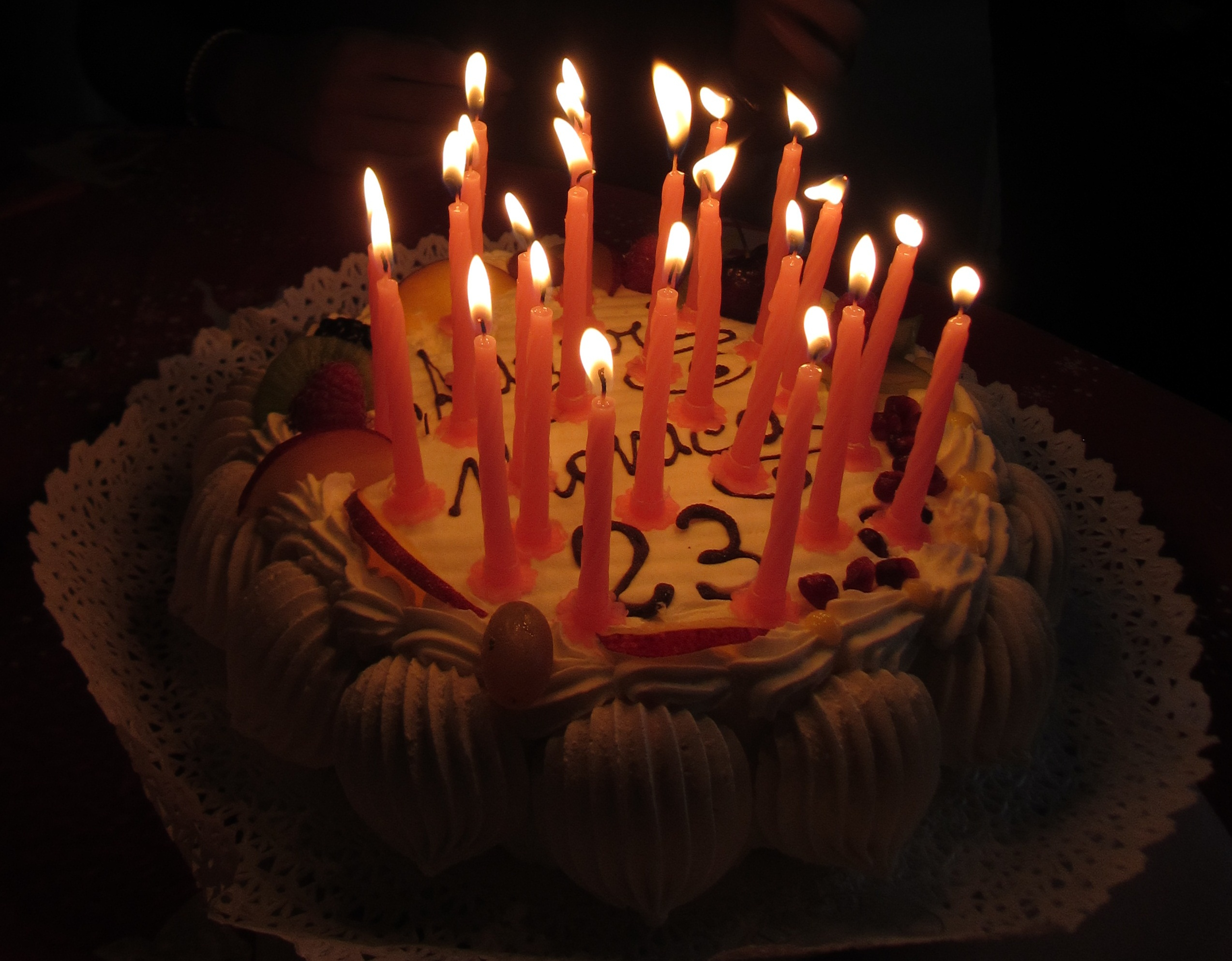 Birthday Cakes With Candles Fileitaly Birthday Cake With Candles 4 Wikimedia Commons