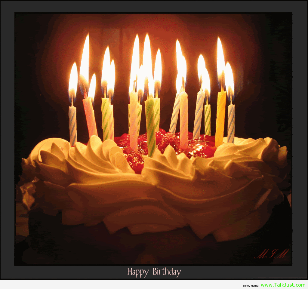34+ Great Picture of Birthday Cakes With Candles