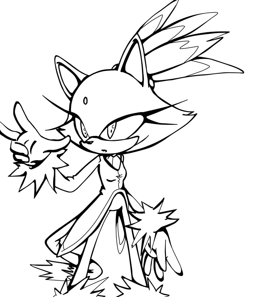 Blaze Coloring Pages 14 Pics Of Sonic Blaze Coloring Pages Sonic Blaze The Cat