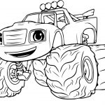 Blaze Coloring Pages Blaze And The Monster Machine Coloring Pages Printable Coloring
