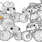 Blaze Coloring Pages Blaze Monster Wild Wheels Coloring Pages Blaze And The Monster