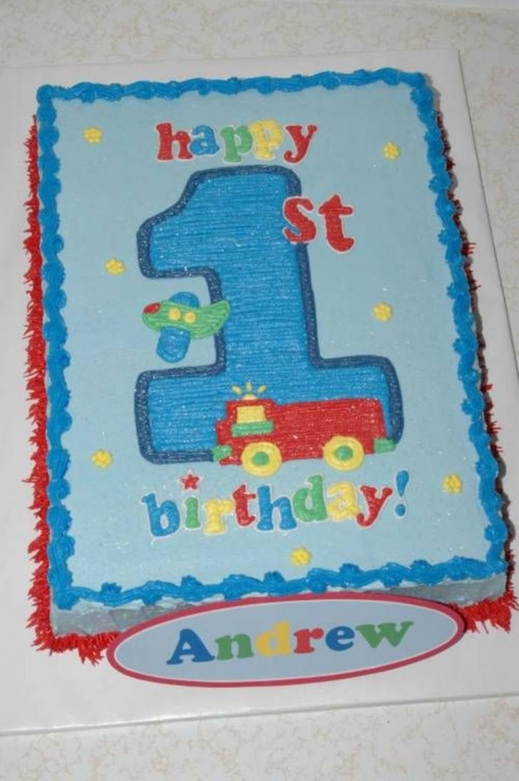 Boys First Birthday Cake Boys First Birthday Cake Cakecentral