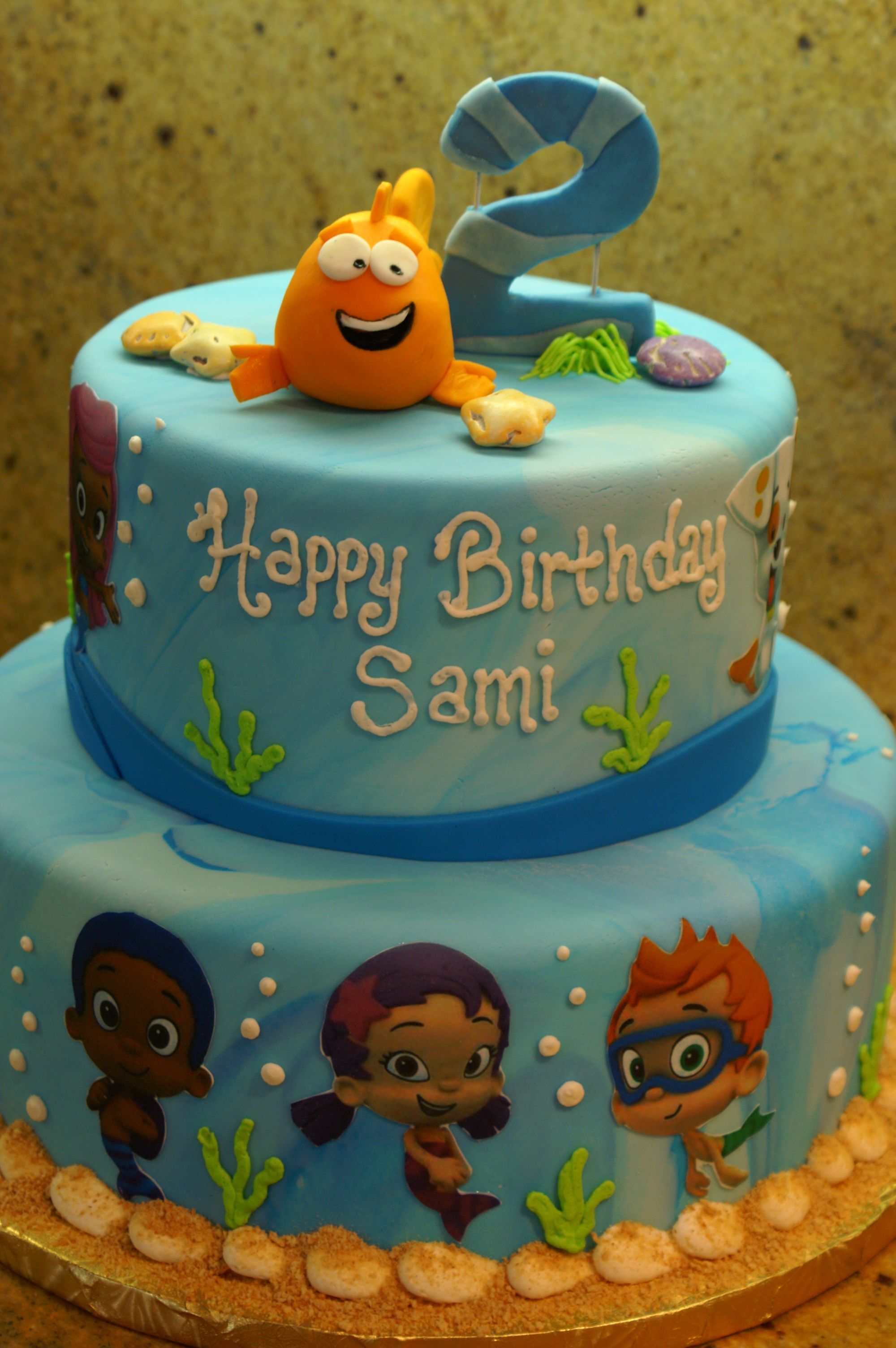 30 Amazing Picture of Bubble Guppies Birthday Cake
