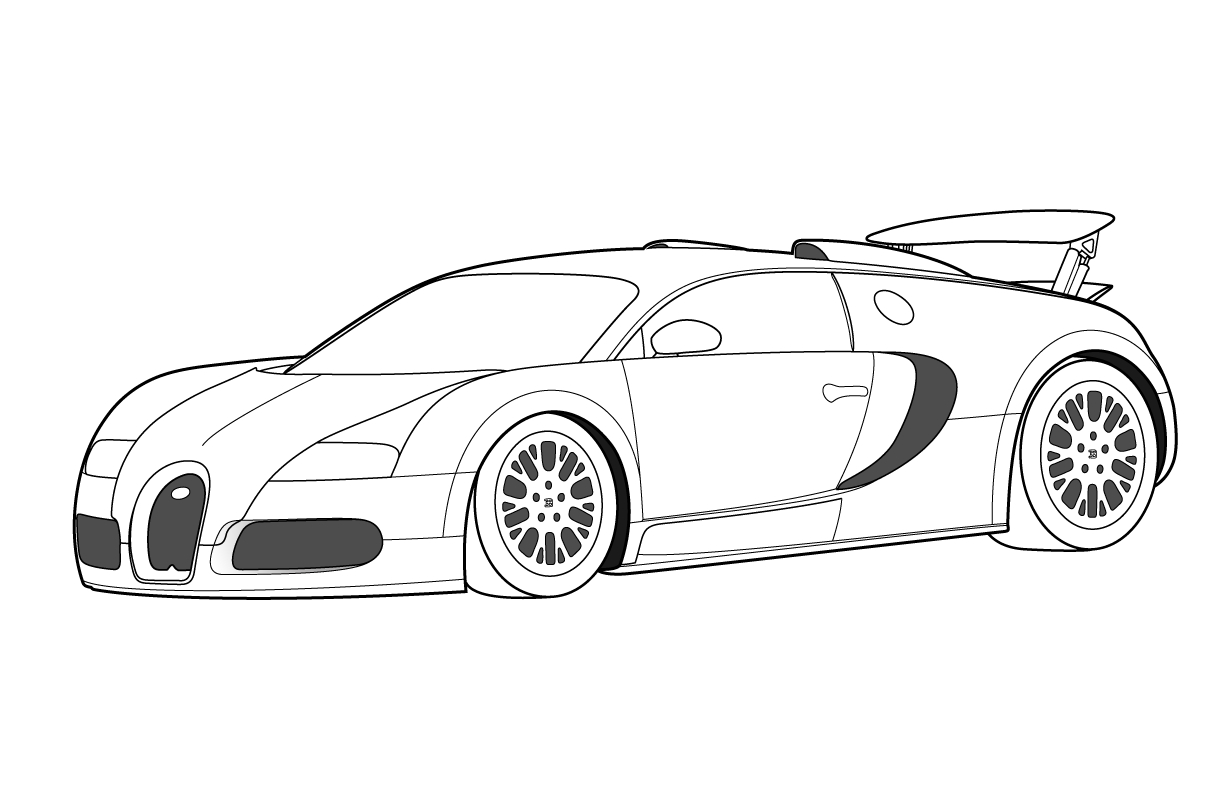 Bugatti Coloring Pages Free Printable Bugatti Coloring Pages For Kids