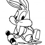 Bugs Bunny Coloring Pages Ba Looney Tunes Lovely Bugs Bunny Coloring Page Free Printable