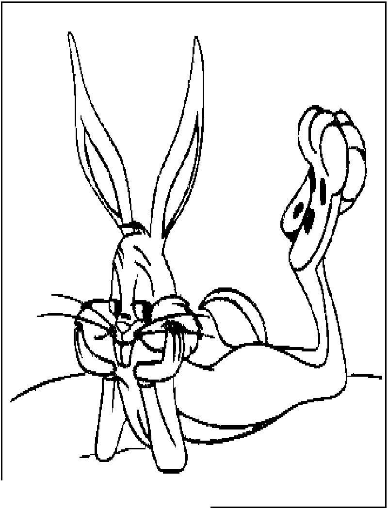 Bugs Bunny Coloring Pages Fancy Bugs Bunny Coloring Pages Free To Print Get Coloring Page
