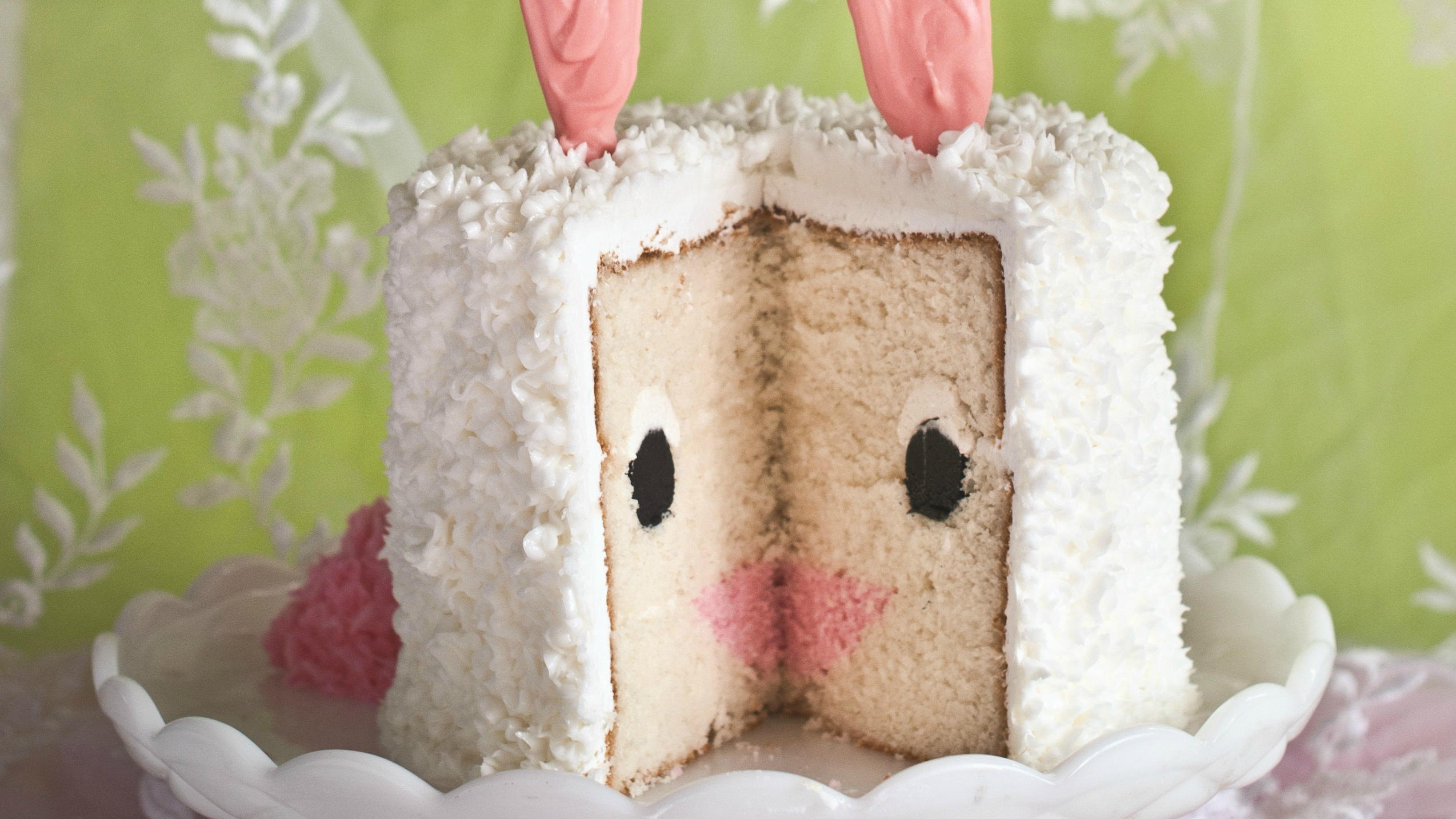 Bunny Birthday Cake Easter Bunny Cake Today