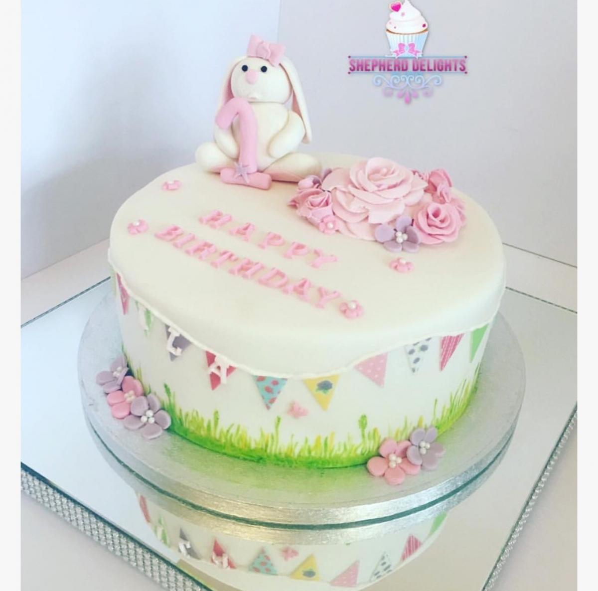 Bunny Birthday Cake Rabbit Birthday Cake Birthday Cakes Cakes For Children