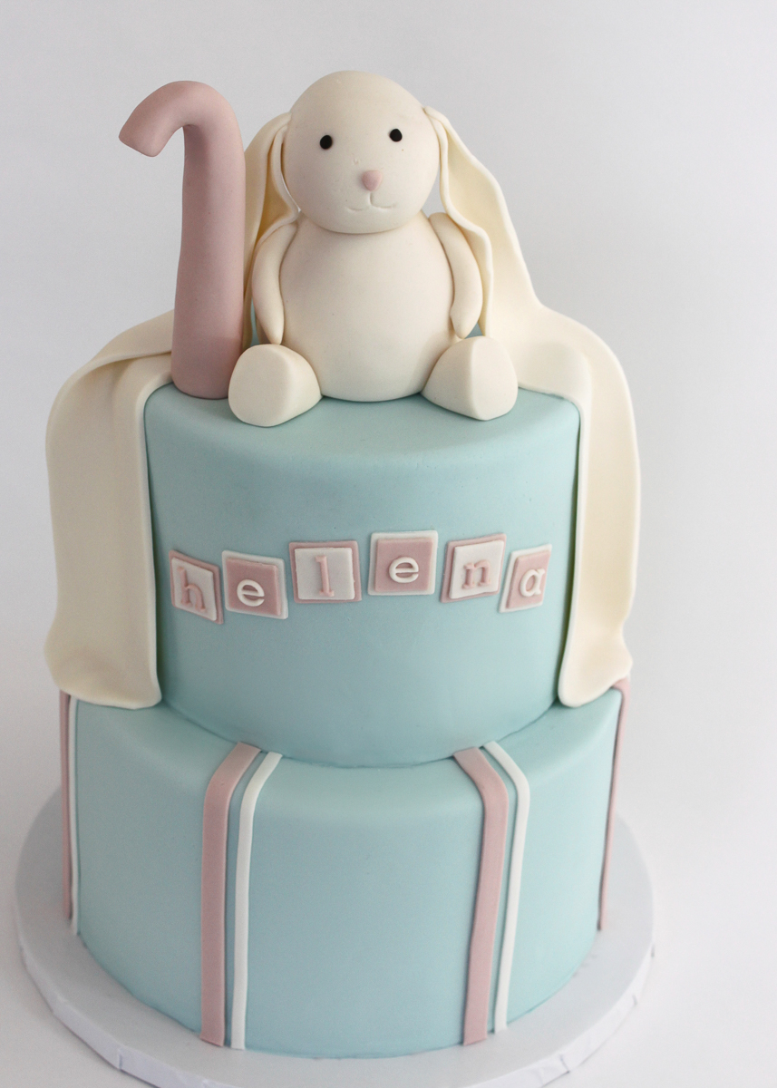 Bunny Birthday Cake Sweet Bunny Birthday Cake Village Cakecraft