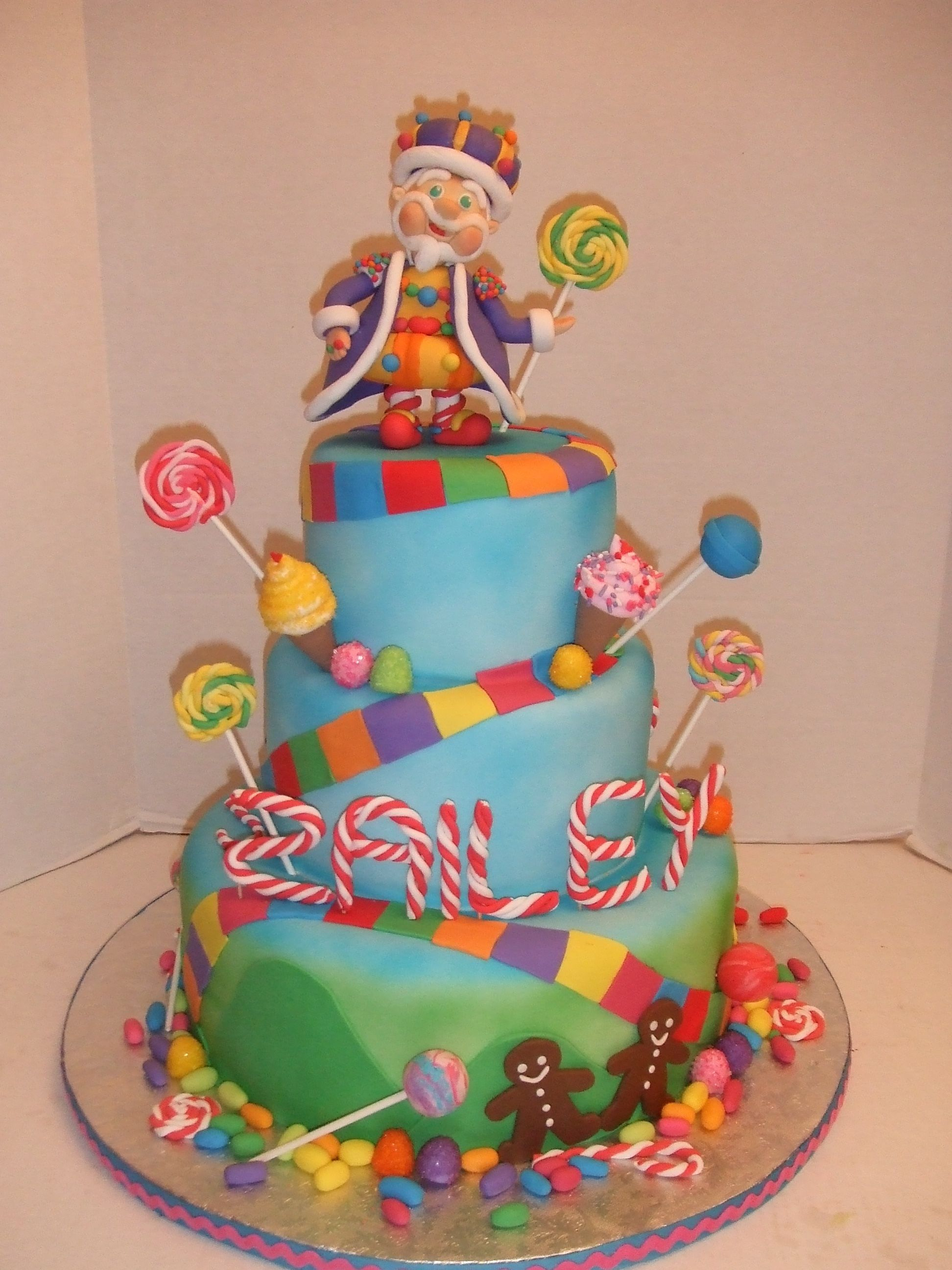 Candyland Birthday Cake Candyland Cakes Candyland Cake Birthday Party Ideas In 2018