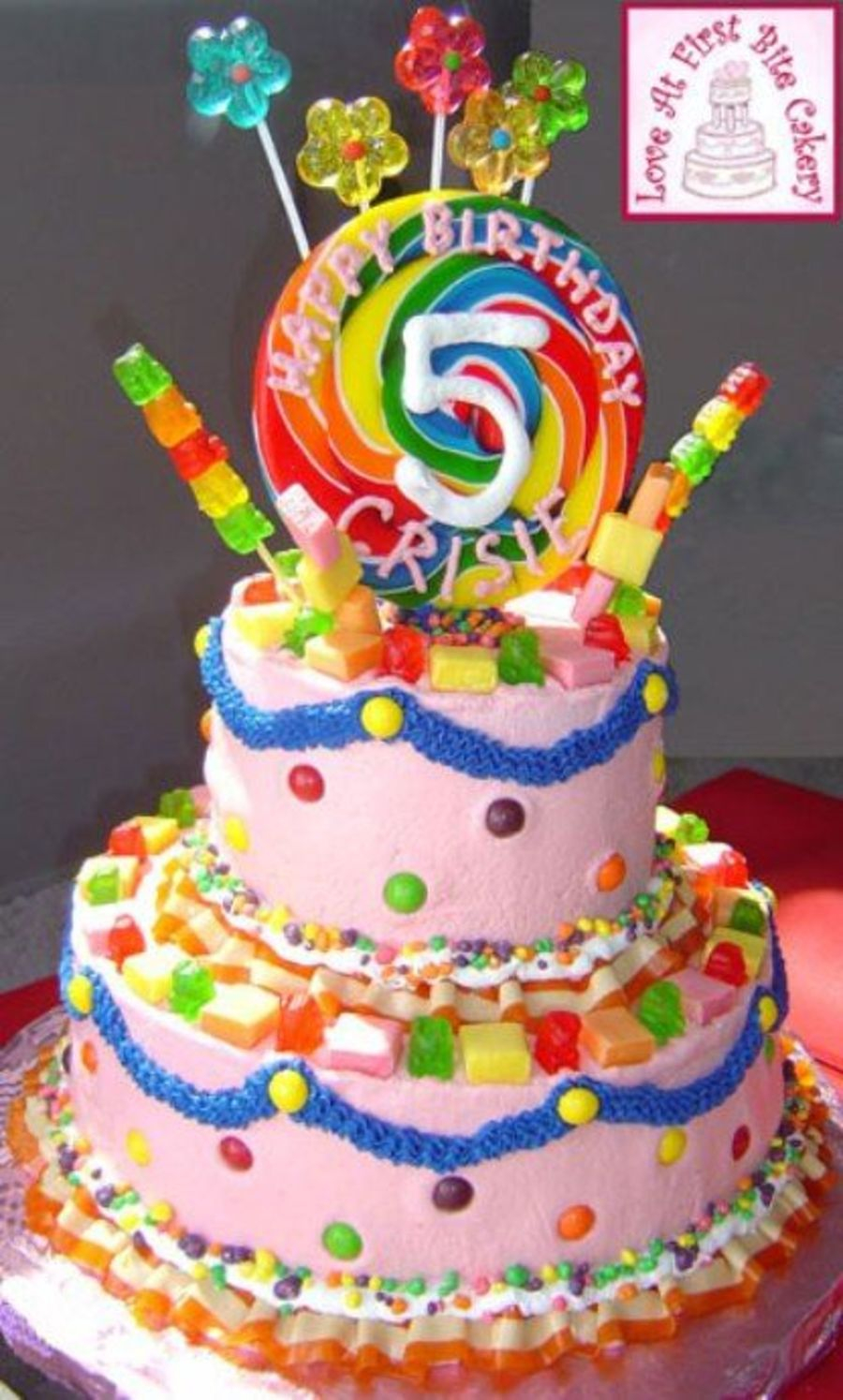 Candyland Birthday Cake Candyland Themed Birthday Cakecentral