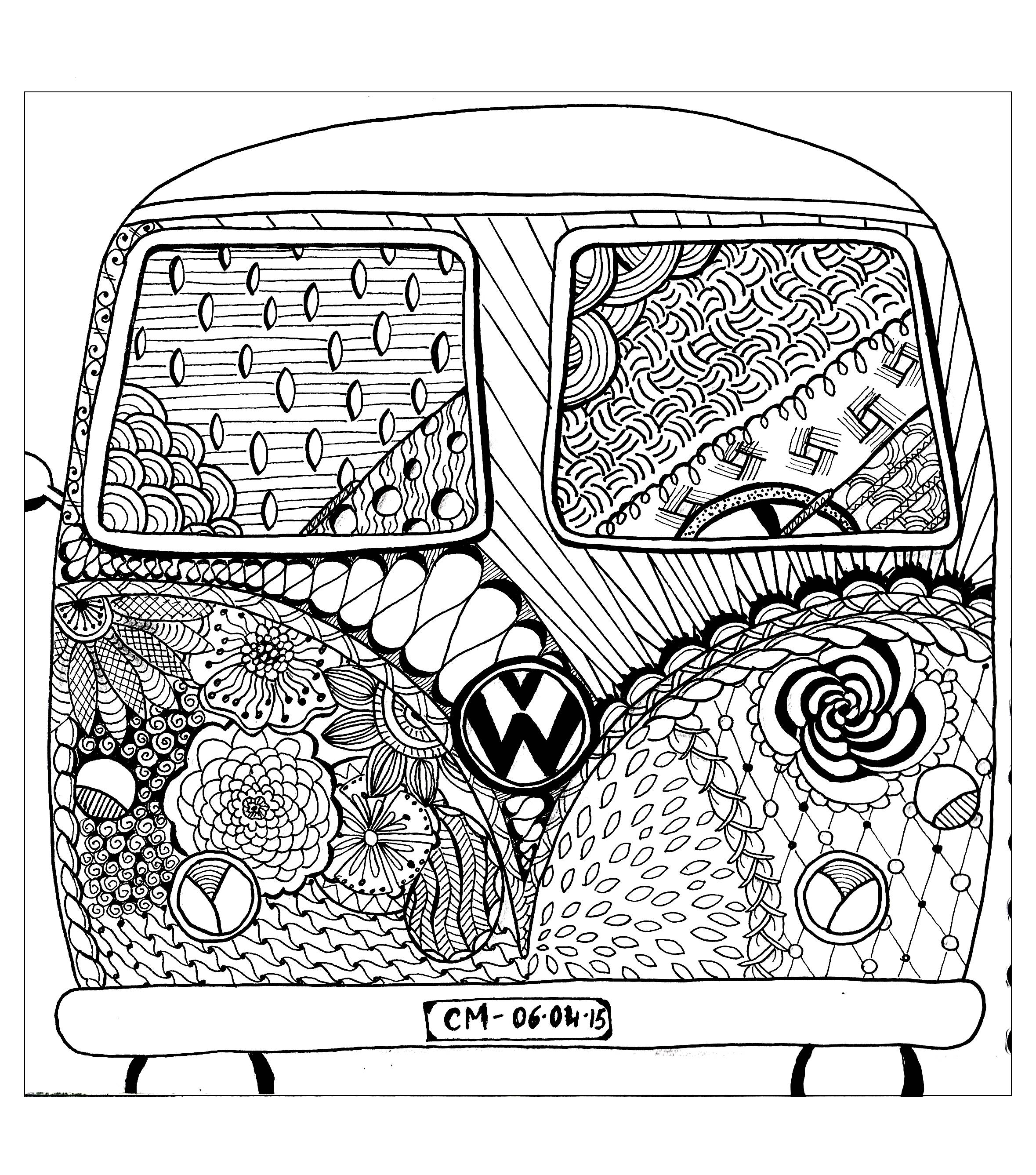 Car Coloring Pages Car Coloring Pages For Adults