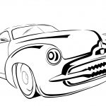 Car Coloring Pages Classic Car Coloring Page Free Printable Coloring Pages