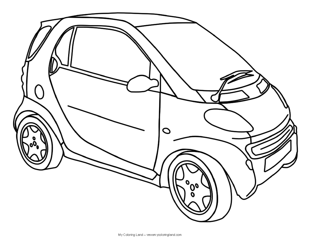 Car Coloring Pages Coloring Page Cars Colouring My Coloring Land Cars Car Coloring Pages