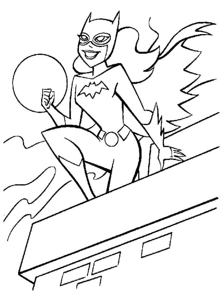 Catwoman Coloring Pages Cartoon Catwoman Coloring Pages Coloringsuite