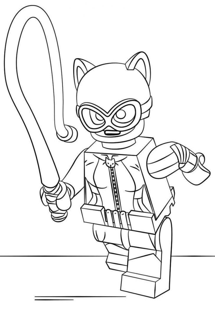 Catwoman Coloring Pages Lego Batman Coloring Pages New Coloring Sheets Lego Catwoman 588