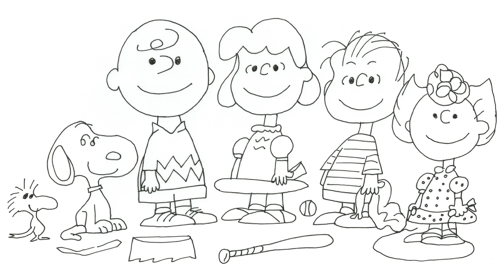 Pretty Photo of Charlie Brown Coloring Pages