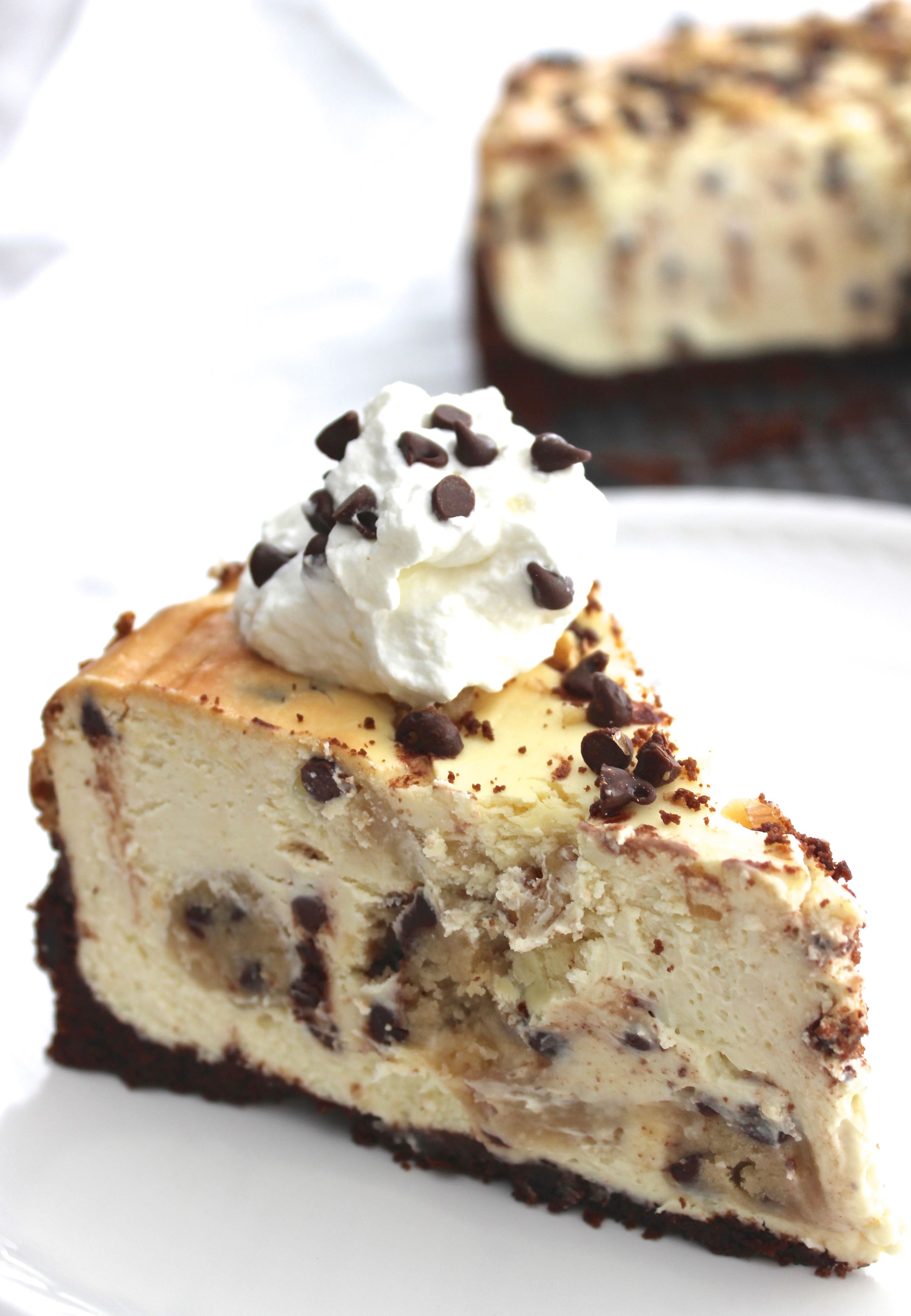 Cheesecake Factory Birthday Cake Chocolate Chip Cookie Dough Cheesecake Could It Be Any More