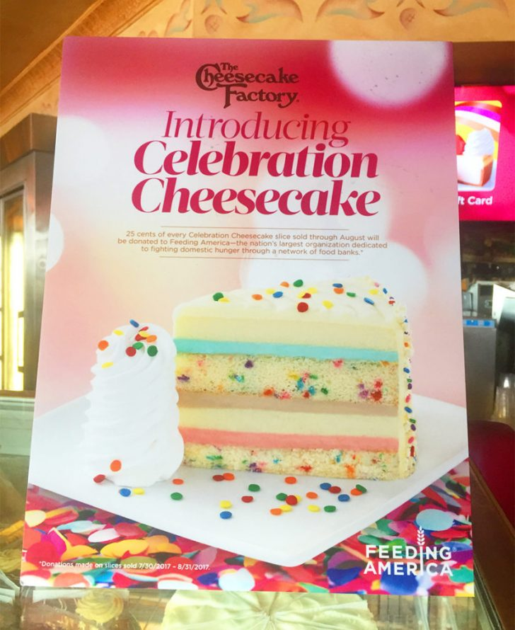 Cheesecake Factory Birthday Cake Review Of Cheesecake Factorys Celebration Cheesecake