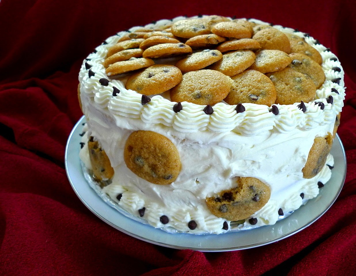 1236 X 960 In 30 Great Photo Of Chocolate Chip Cookie Birthday Cake