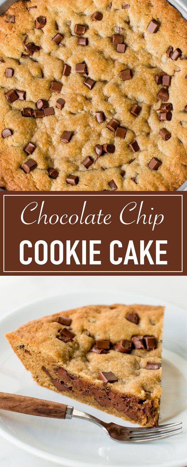 Chocolate Chip Cookie Birthday Cake Ultimate Chocolate Chip Cookie Cake Video Pretty Simple Sweet