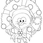 Christmas Wreath Coloring Pages 30 Free Christmas Wreath Coloring Pages Printable