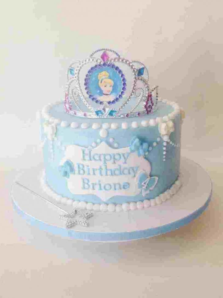 Cinderella Birthday Cakes Cinderella Birthday Cake Toppers Colorfulbirthdaycaketk