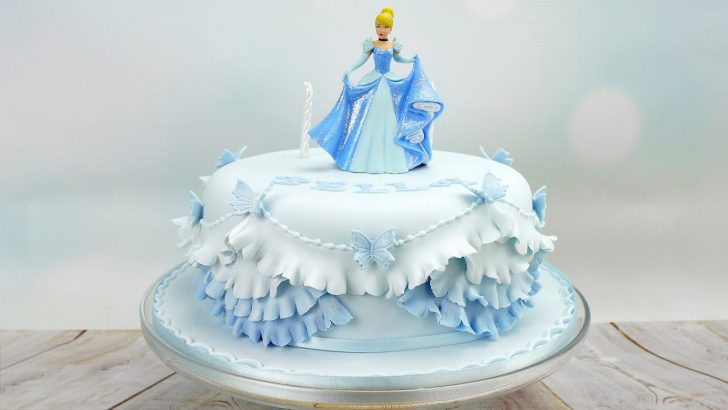 Cinderella Birthday Cakes Cinderella Princess Birthday Cake Youtube