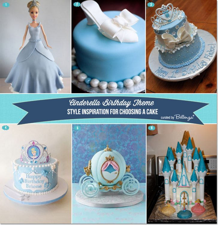 Cinderella Birthday Cakes Cinderella Themed Birthday Cakes