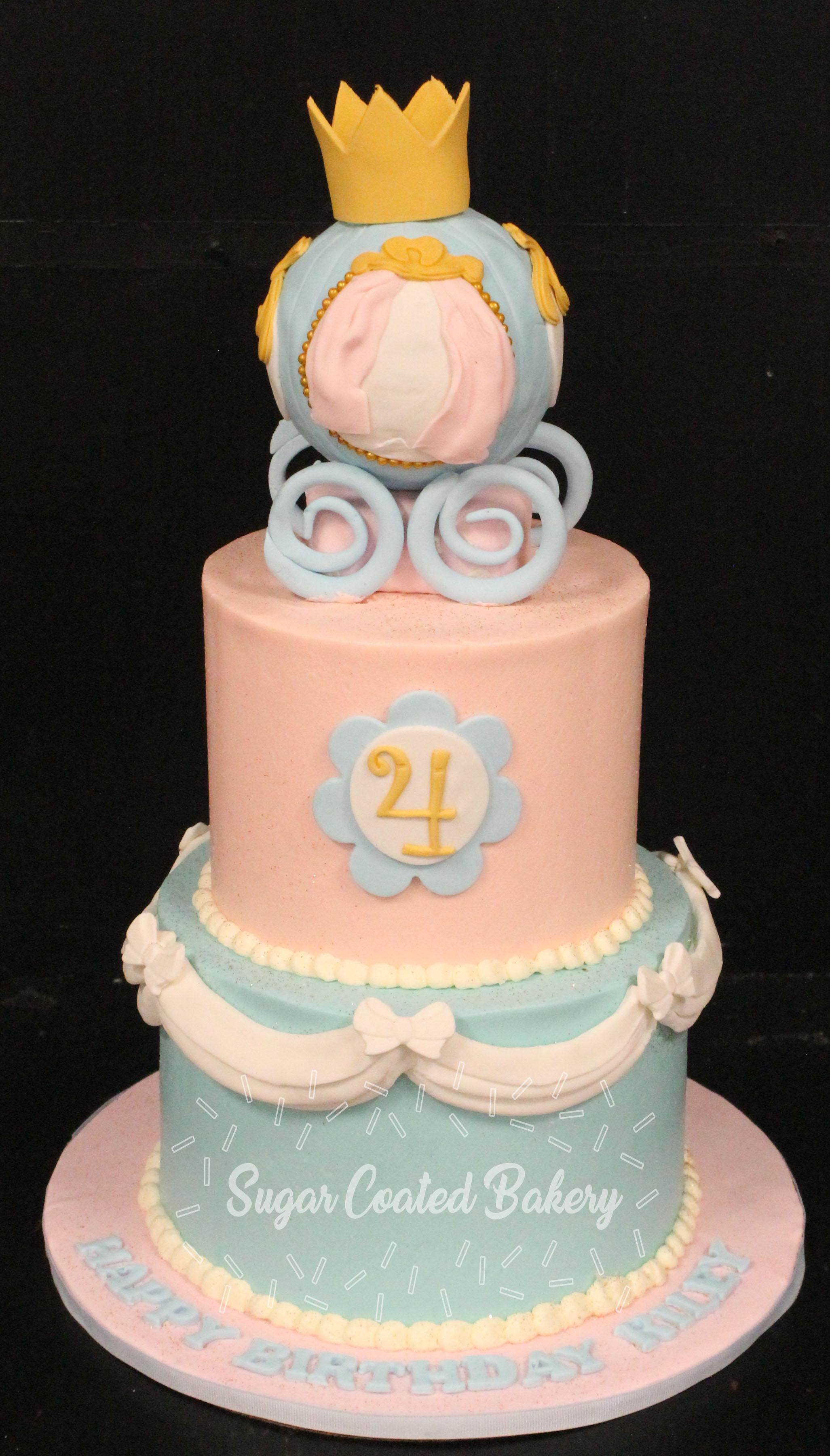 Cinderella Birthday Cakes Sugar Coated Bakery Lowell Baking Everyday Better