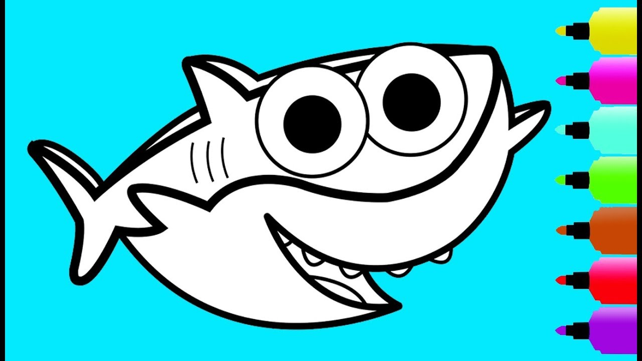 Coloring Pages Sharks Coloring Page Shark Coloring Pages