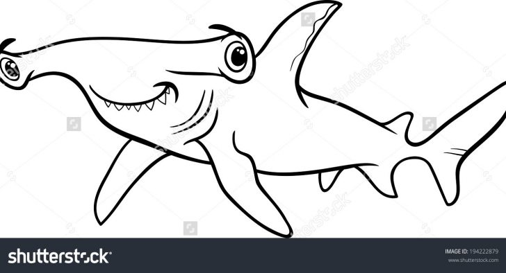 Coloring Pages Sharks Hammerhead Shark Coloring Pages With Page Coloring Pages