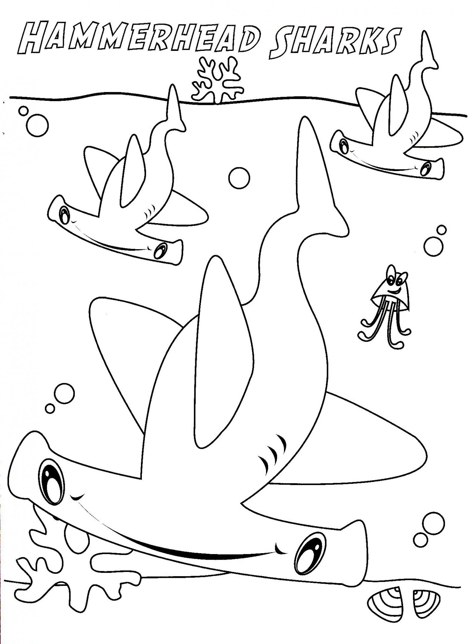 Coloring Pages Sharks Shark Coloring Pages Sharks Coloring Pages Great White Shark